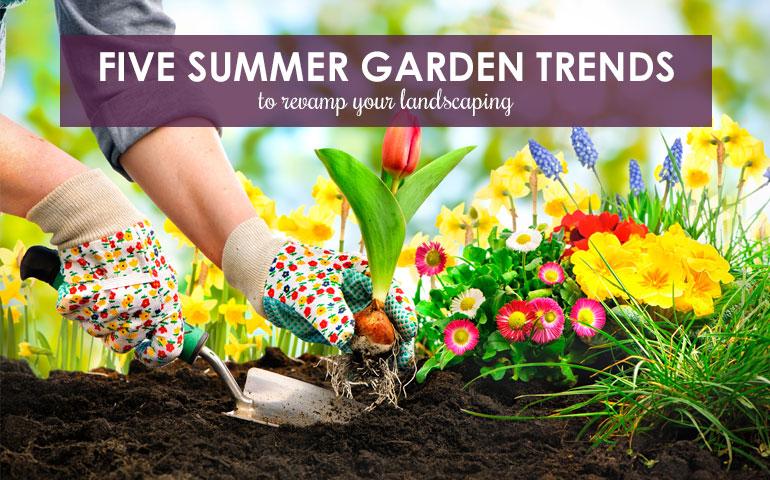 5 Summer Garden Trends to Revamp Your Landscaping