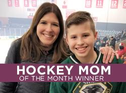 Congratulations to our April Hockey Mom Winner!
