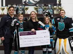 Congratulations to the December 2018 Hockey Mom Winner!