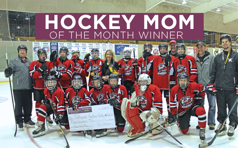Congratulations to the February 2019 Hockey Mom Winner!