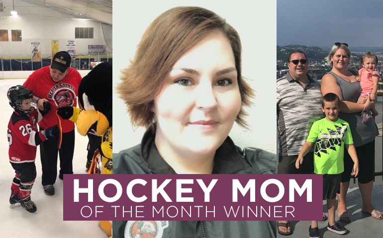 Congratulations to the second Hockey Mom Winner of April!