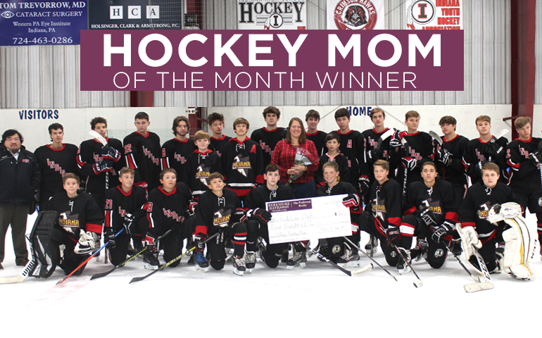 Congratulations to the October 2019 Hockey Mom Winner!
