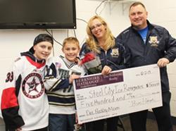Congratulations to the December 2019 Hockey Mom Winner