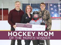 Congratulations to the November 2019 Hockey Mom Winner