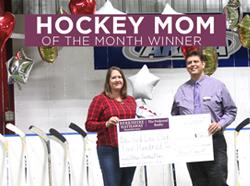 Congratulations to the October 2019 Hockey Mom Winner!