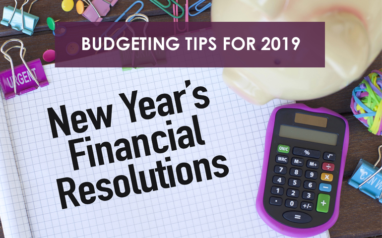 Budgeting Tips for 2019