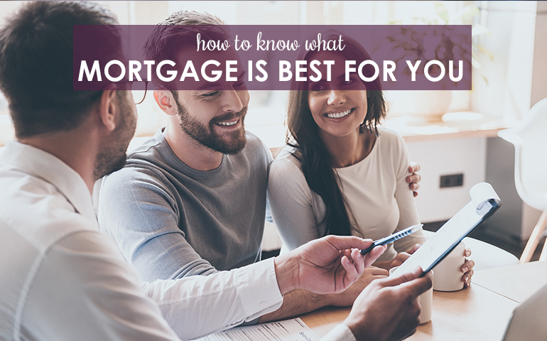 Mortgage Matters - How to Choose One That is Right for You