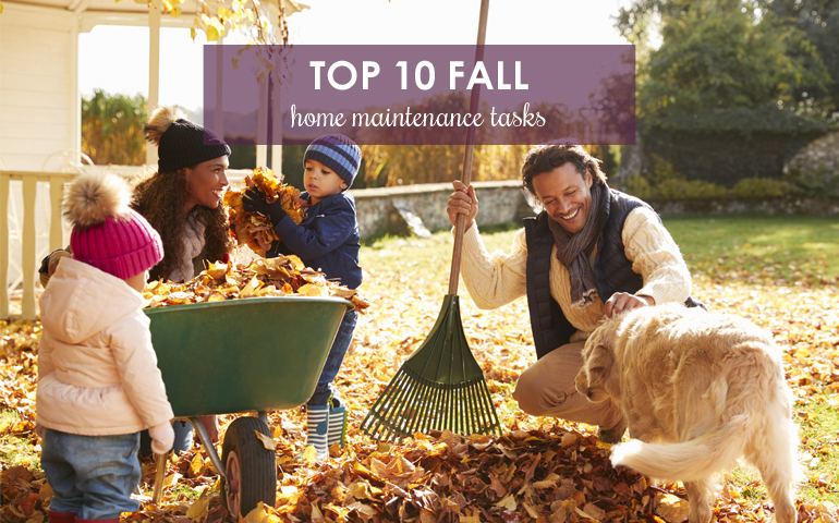 Top 10 Fall Home Maintenance Tasks