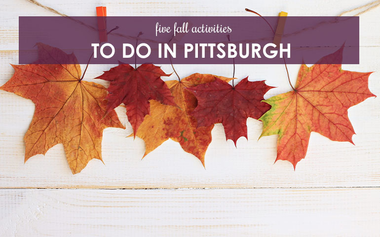 Five Fall Activities to do in Pittsburgh