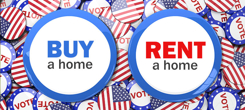 Should You Elect to Buy or Rent Your Next Home?