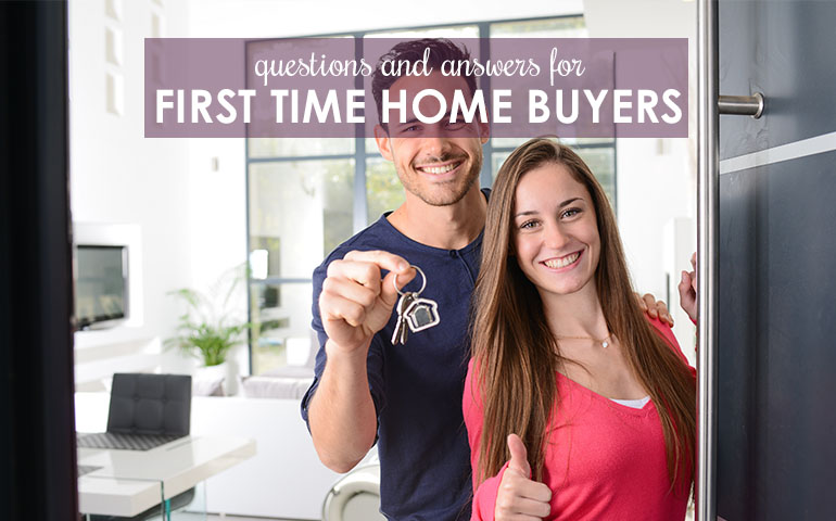 First-Time Home Buying Help: 10 Frequently Asked Questions and Answers!