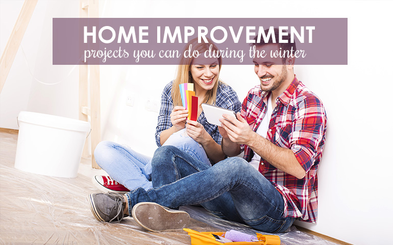 Five Hot Home Improvement Projects to Warm Up to This Winter
