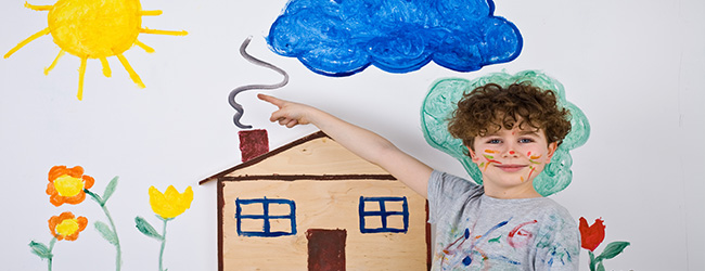 Erase Rainy Day Blues with Kid-Friendly Indoor Home Improvement Projects