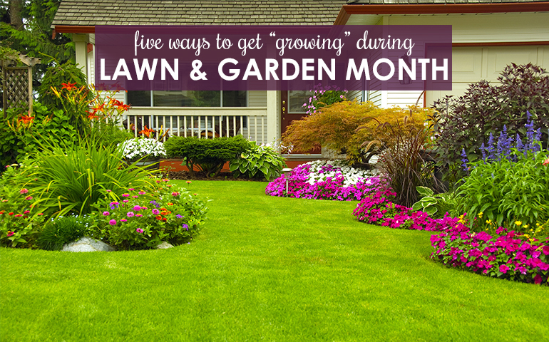 Five Tips to Get Growing During National Lawn and Garden Month
