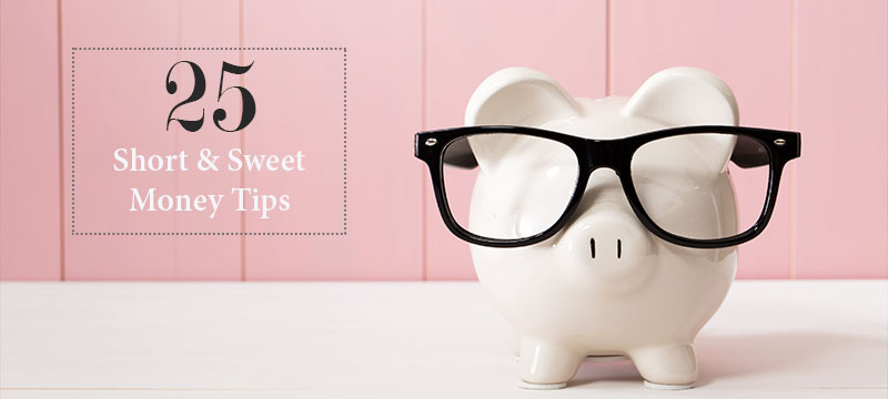 Falling Off the Financial Wagon? 25 Tips to Help You Get Back on Board!