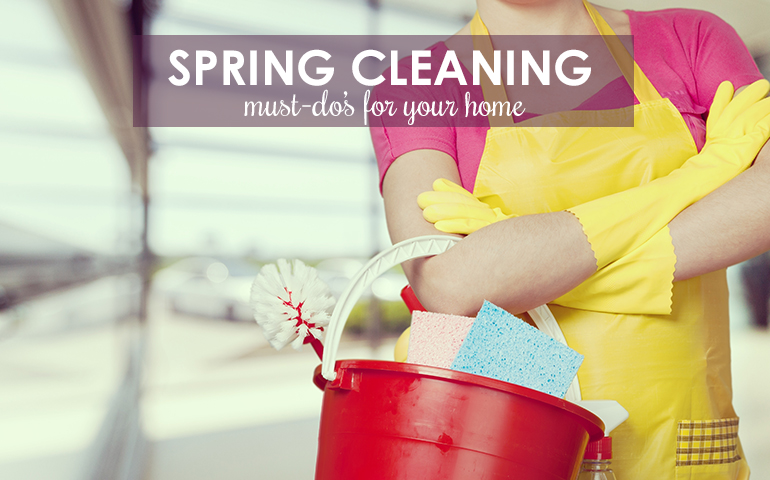 Spruce Up Your Home With 10 Spring Cleaning Musts