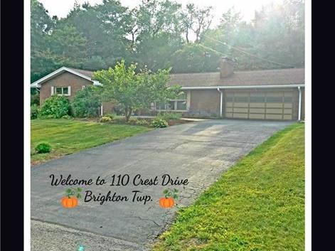 110 Crest Dr., Brighton Township