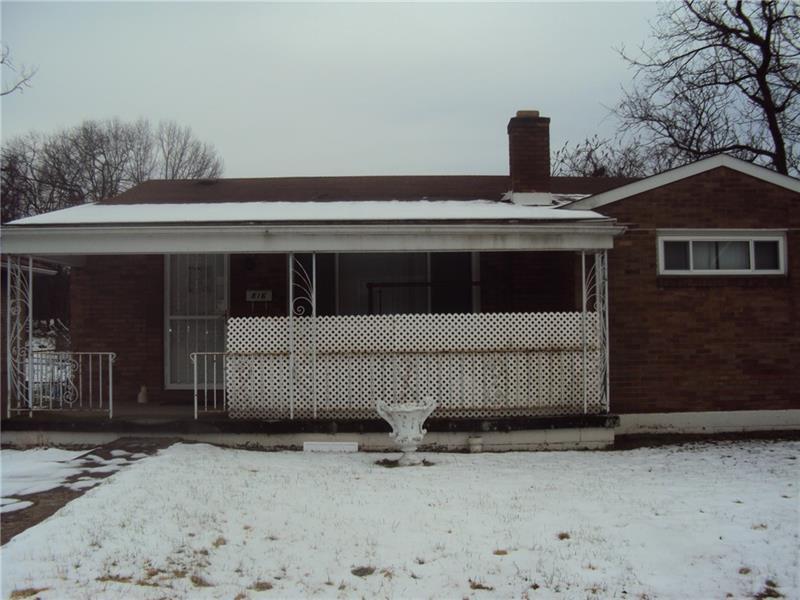 816 School Street, West Mifflin