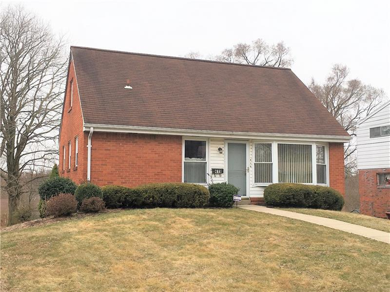 419 Valley View Drive, Monroeville